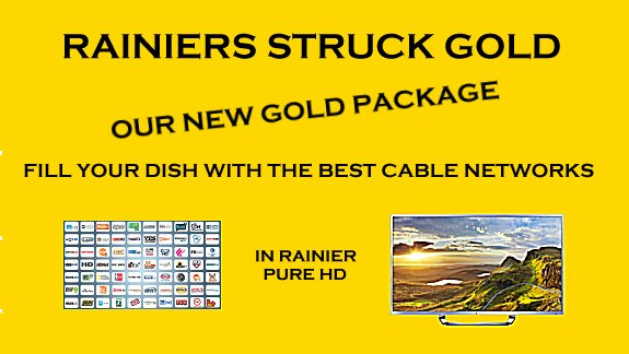 Gold HD C band Satellite Programming