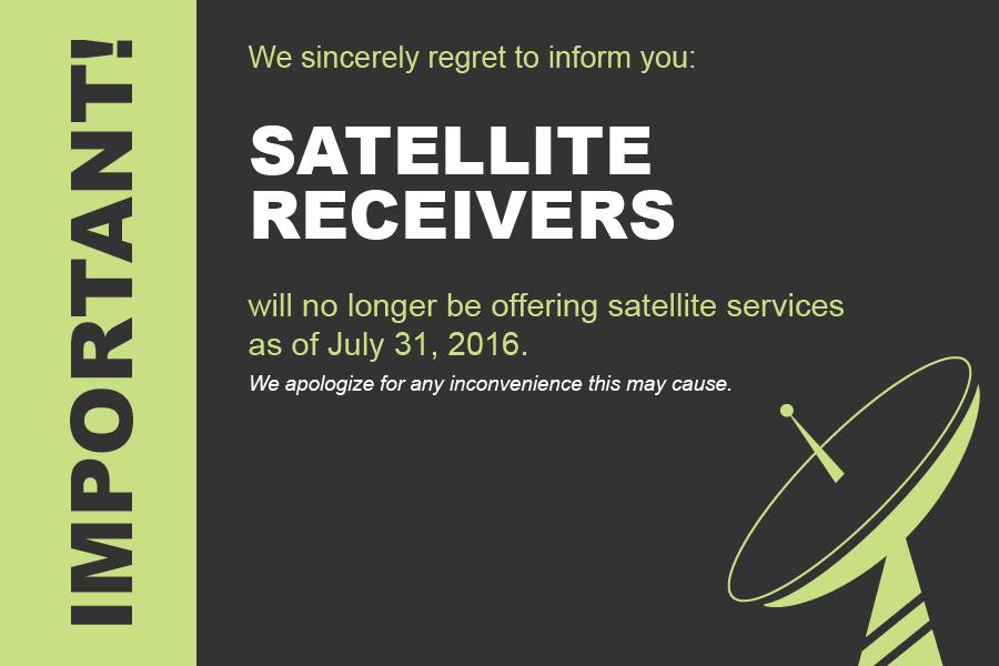 Programming Center official 4DTV shutdown notice  - Rainier