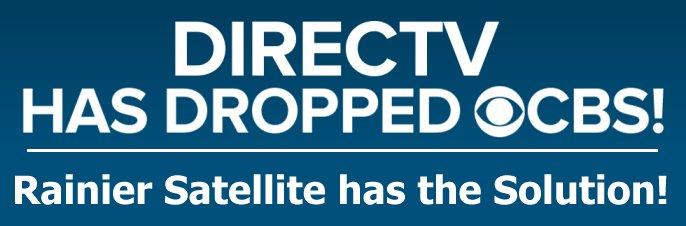directv drops CBS